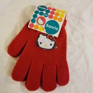 Sanrio Hello Kitty Girls Gloves Mittens